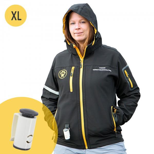 Softshell Jacke (XL) + Clicker GRATIS