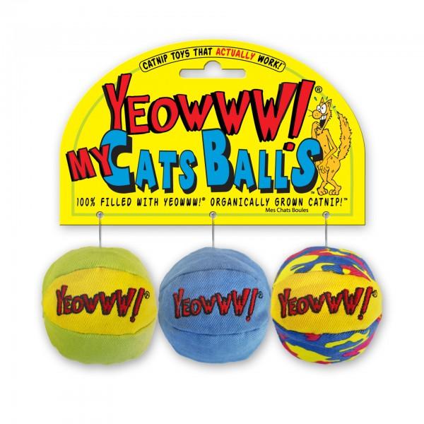 Yeowww! My Cats Balls 3er Set