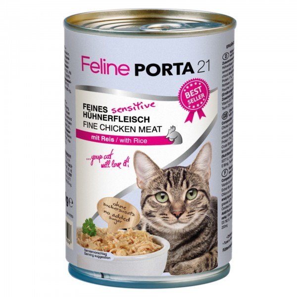 Feline - Sensitive Huhn mit Reis