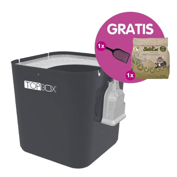 TOPBox + SoftCat 9.5 L + Litter Lifter