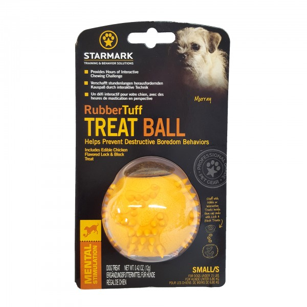 Rubber Tuff Treat Ball