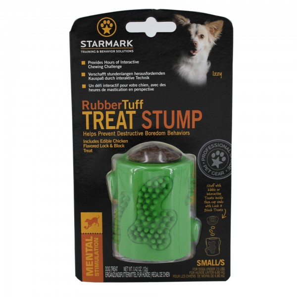 Rubber Tuff Treat Stump