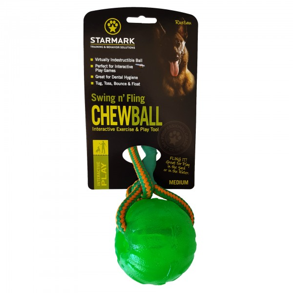 Swing 'n Fling Chew Ball