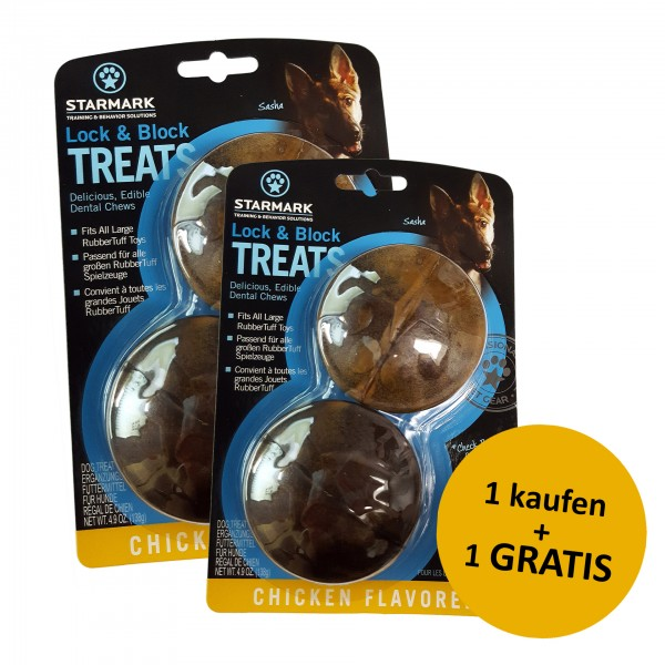 Lock & Block Treat Large + 1 gratis